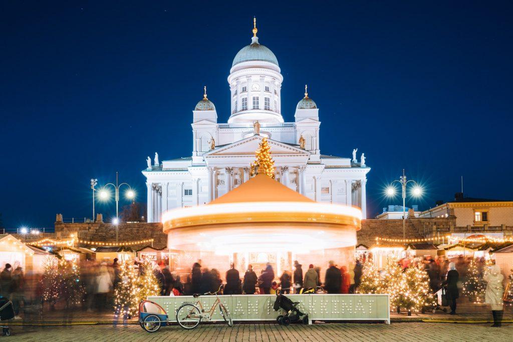 Le marché de Noël d'Helsinki