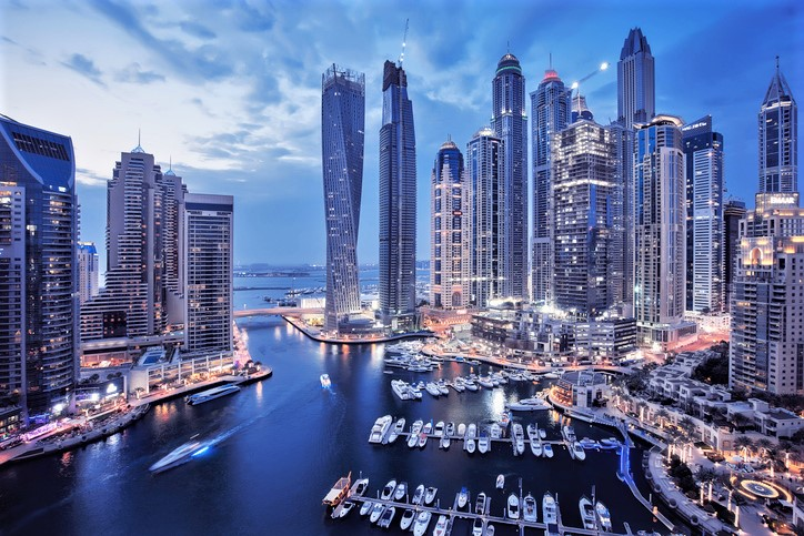 le Dubai International Boat Show 2020